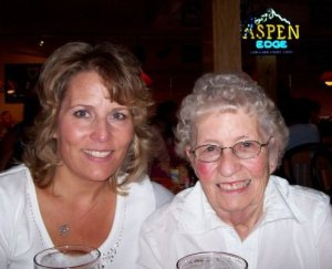 One of my favorite pictures of Mom & me... having a Killian's in Branson, MO