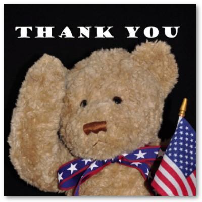 patriotic thanks