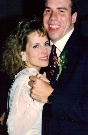 me & the hubbs at our wedding  - an Emjayandthem (C) photo
