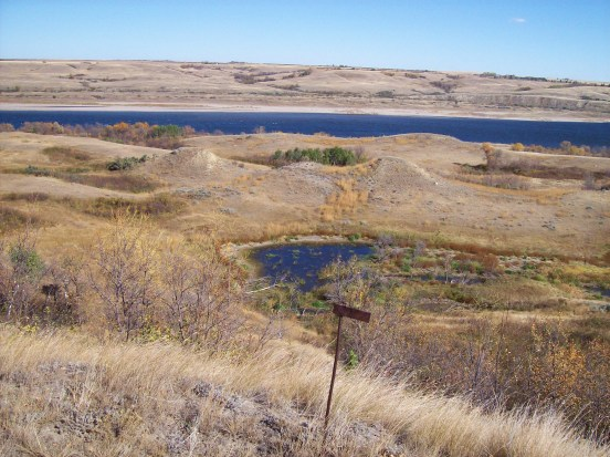 the South Saskatchewan river, view from our homestead; an emjayandthemphoto (C)