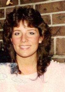 """rockin the 80s hairdo as the """"singer in the band"""" An Emjayandthem (C) photo"""