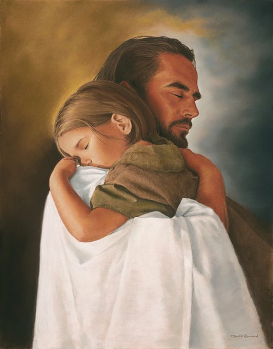 """When I look at this image, that childhood song plays in my head, """"Jesus loves the little children, all the little children of the world.""""  Image from Pinterest.com"""