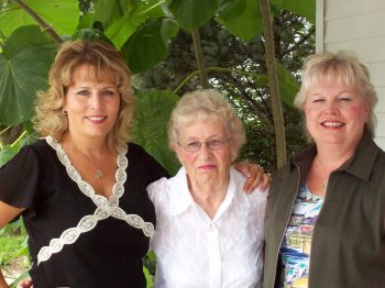 me, mom & Patti in Branson, MO, 2007