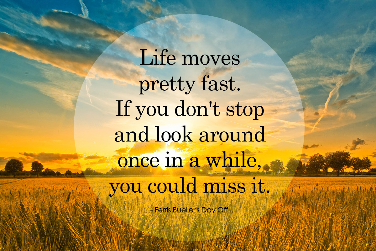 slow down you move too fast | Emjayandthem's Blog