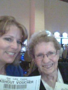 Me & Mom rocking the Casino last summer!