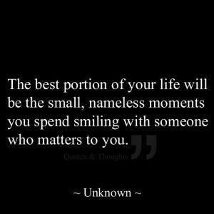Nameless moments