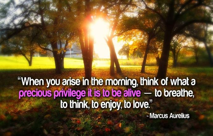 thankful morning