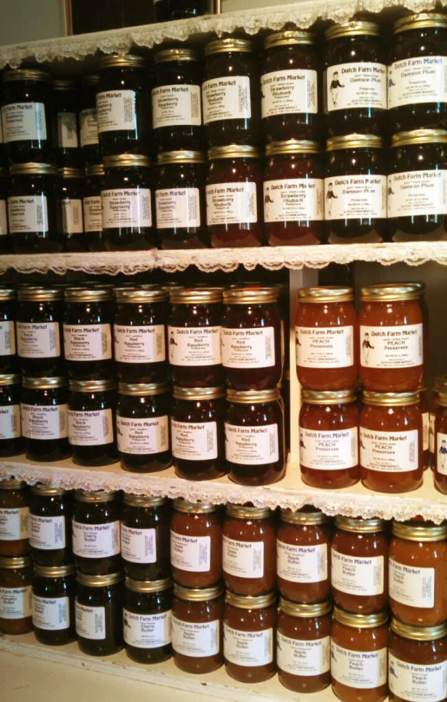 Jams and Jellies as far as the eye could see!  An Emjayandthem (C) photo