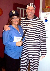 Hubbs and I and Halloween fun a few years back; an Emjayandthem (C) photo