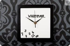 funny clock