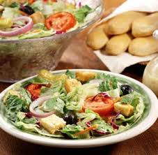 Olive Garden - soup, salad and breadsticks - yum!  Google.images.com