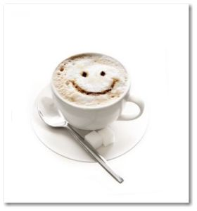 Me & my coffee, early a.m. = Smiles.  Google.images.com