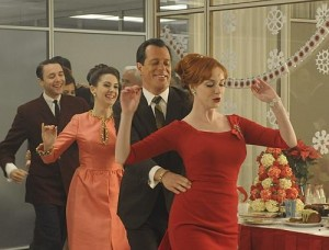 mad men conga line