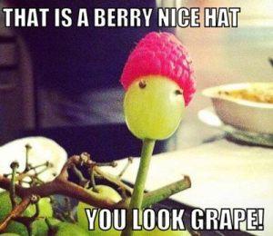 berry nice hat