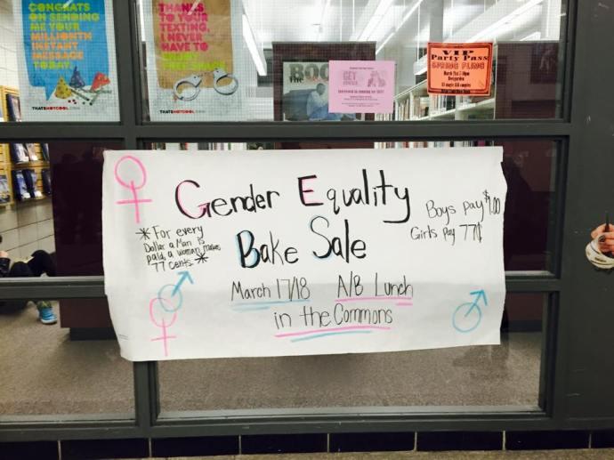 gender equality bake sale