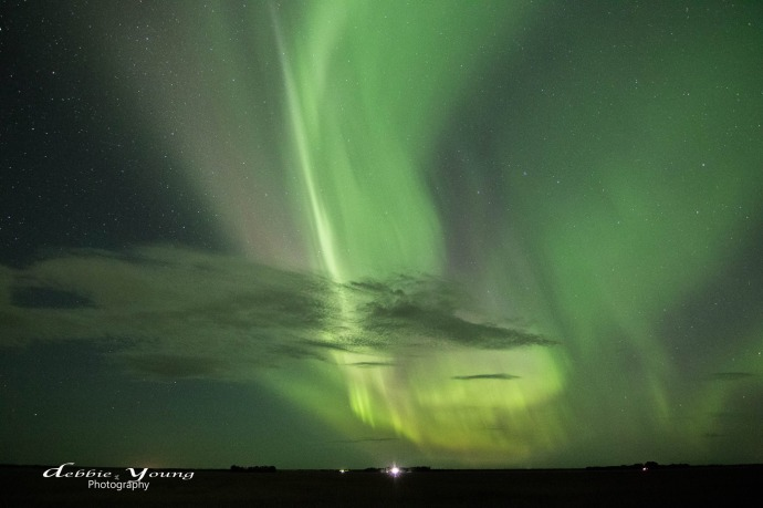debbie young aurora borealis saskatchewan