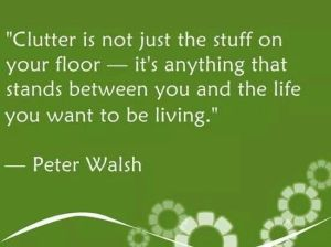 clutter Peter Walsh