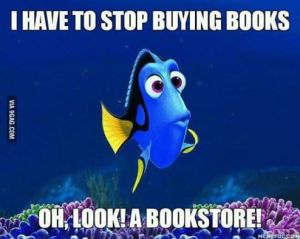 i have to stop buying books